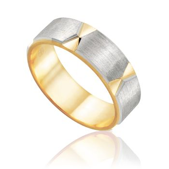 2T3733SAA - Peter W Beck - Rings #AustralianMade #WeddingRings #PreciousMetals #GoldRings