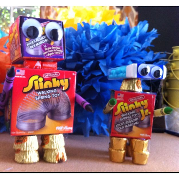 Favorbots   22 Adorable Ideas For An Epic Robot-Themed Birthday Party