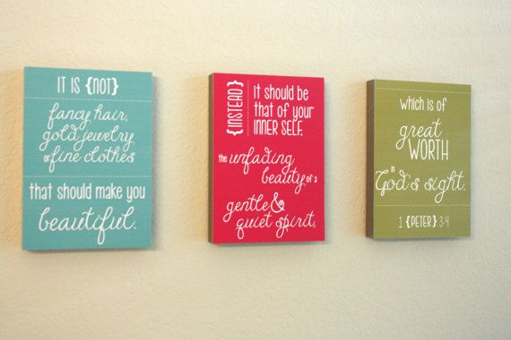 Wall Art Perfect for Little Girl's Bathroom by SweetGreetsDesigns, $20.00