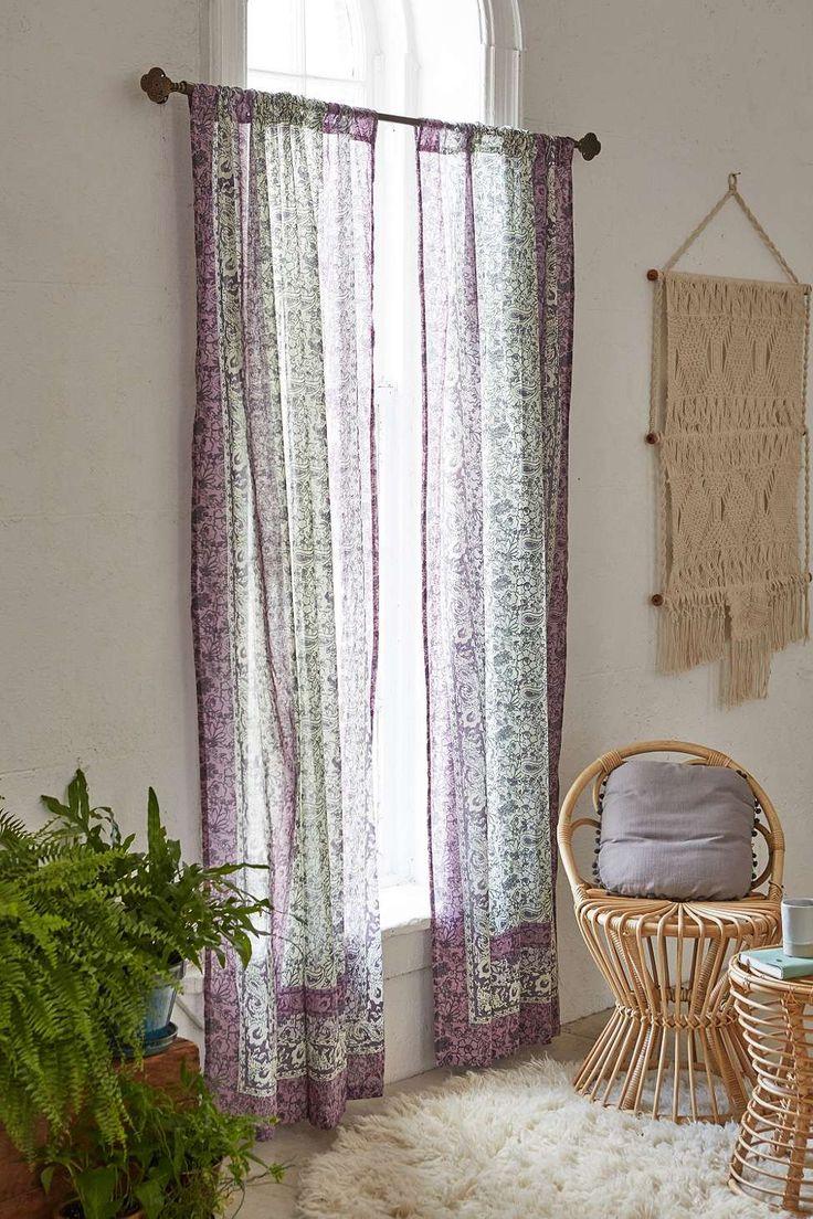 Les 25 meilleures id es concernant rideaux du bow window for Decoration fenetre bow window