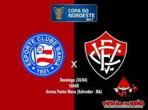 Vitória na Veia! Nordestão: Na Arena Fonte Nova, Vitória encara o rival buscando confirmar a vaga na final - Vitória na Veia!