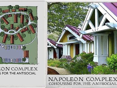 Napoleon Complex is a Community for the Tiny House Movement
