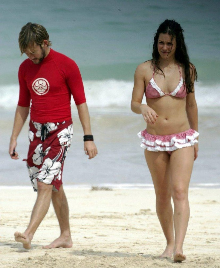 Evangeline Lilly & Dominic Monaghan - as Kate and Charlie from LOST
