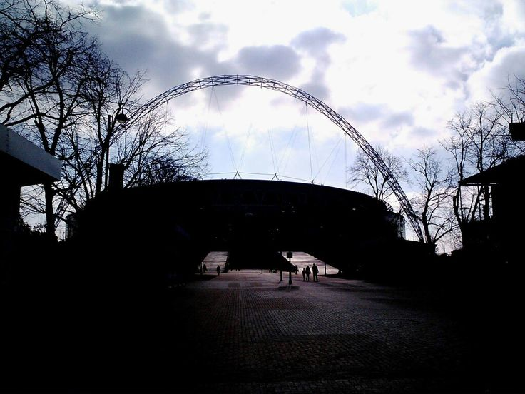 Temple of football. Wembley.