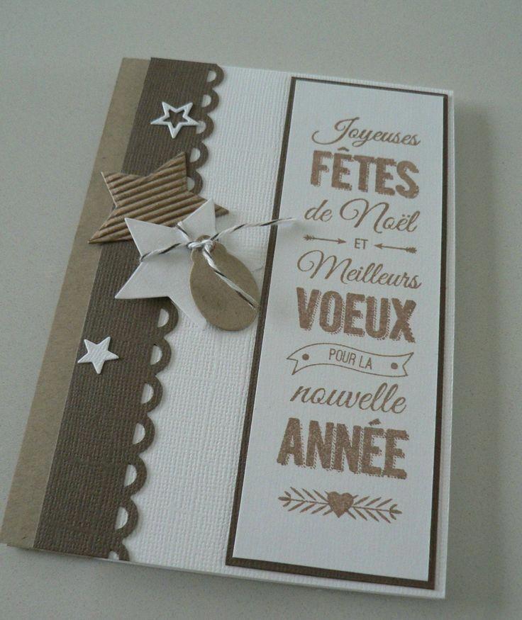 Carte Noel Faite A La Maison77 Vie Www Cartefaitmain Eu Carte