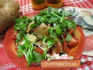 Coniglio freddo in insalata