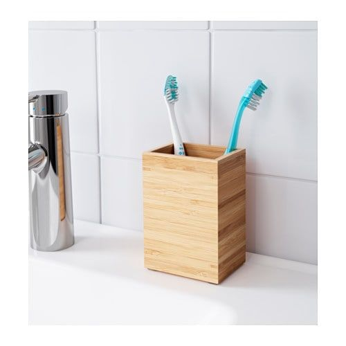 Dragan Toothbrush Holder Bamboo In 2018 Home Pinterest Ikea