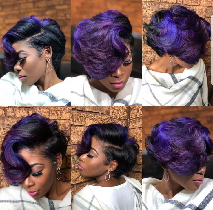 Gorgeous purple by @artistry4gg - https://blackhairinformation.com/hairstyle-gallery/gorgeous-purple-artistry4gg/