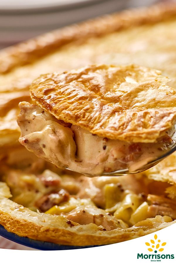In the mood for family? Try our Chicken and leek pie recipe from our Emotion Cookbook