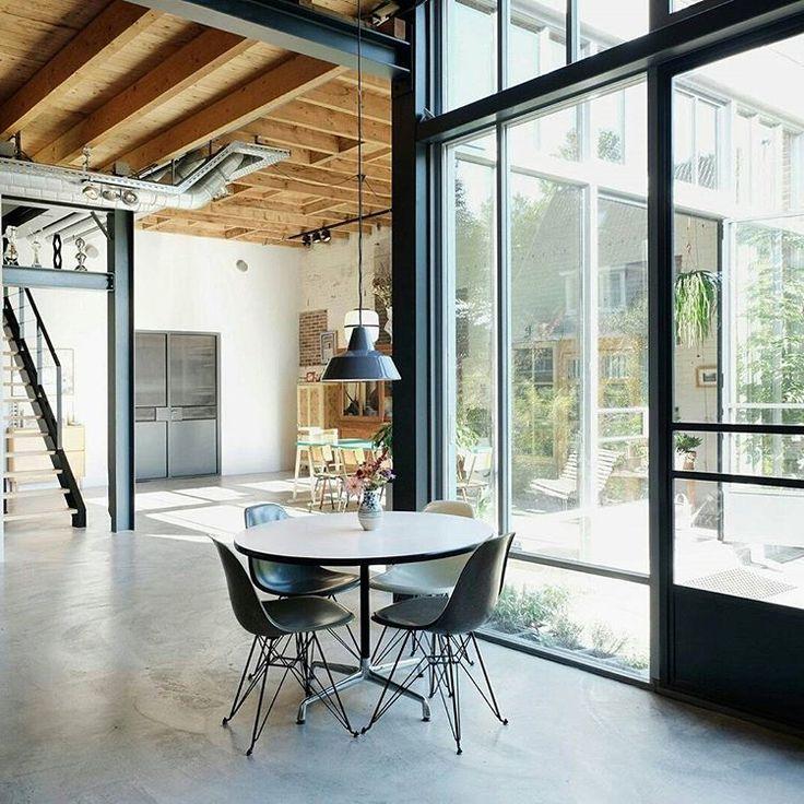 550 best Industrial Loft Design images on Pinterest Industrial - industrie look wohnung soho