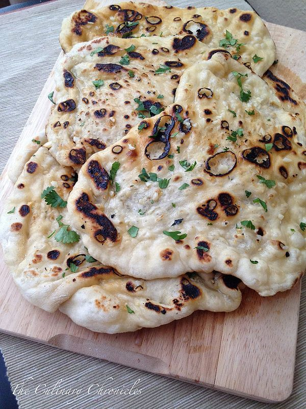 Garlic Naan from @myfoodventures