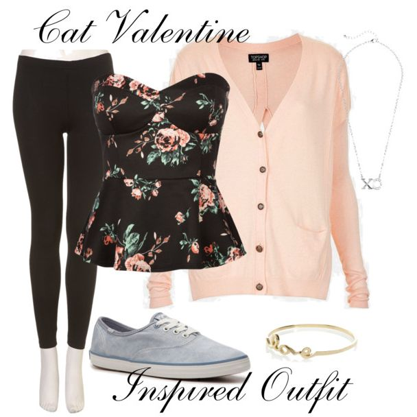 "This is a Cat Valentine Inspired outfit post from Season 1 Episode 3 of Sam & Cat, ""#TheBritBrats""  **Make sure you check out www.allaboutsamandcat.com for more posts!"