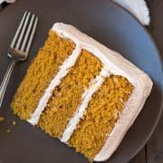 Fall is that time of year where you have more excuses to make cake right? At least that's how I feel about it :). It's that time of year to break out all t