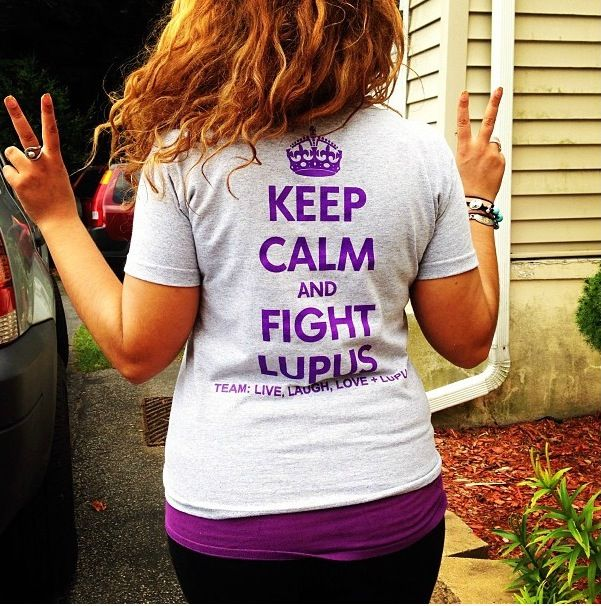 You might as well fight Lupus with a positive attitude!