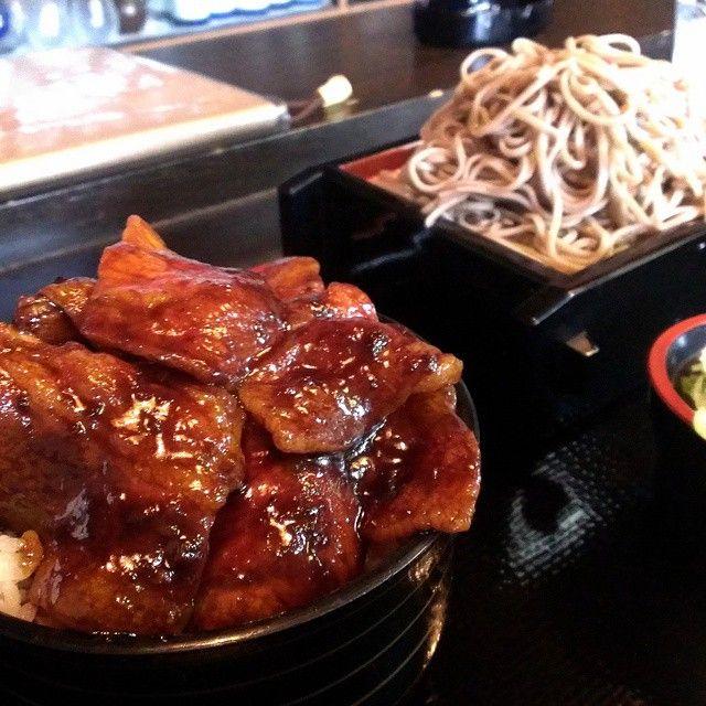 #森田屋 #豚丼セット #冷たいそば #豚丼 #陸別 #十勝 #北海道 (森田屋)