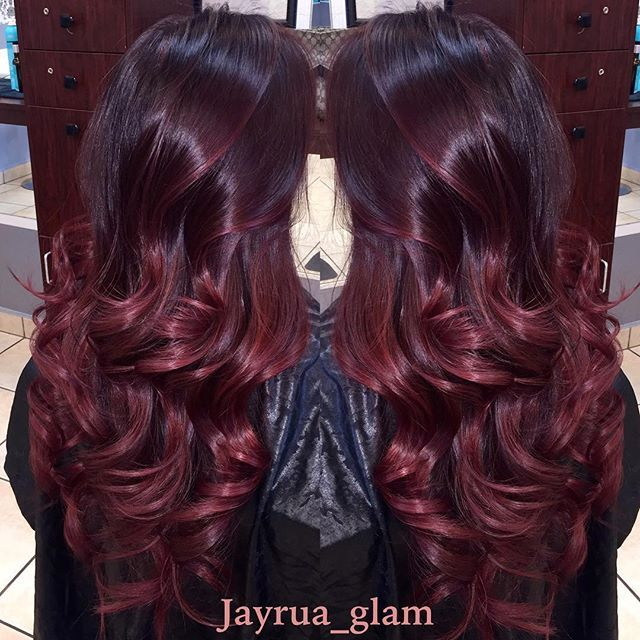 Cherry Ombre Hair...Wine Not?!