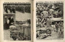 1945 WW2 Magazine (5120) JAPAN SURRENDERS Radar Tower Hopton on Sea LEONARD MARSLAND GANDER