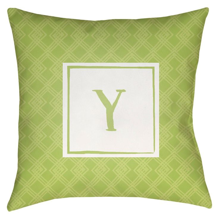 Surya Treasured Bond Upsilon Pillow -