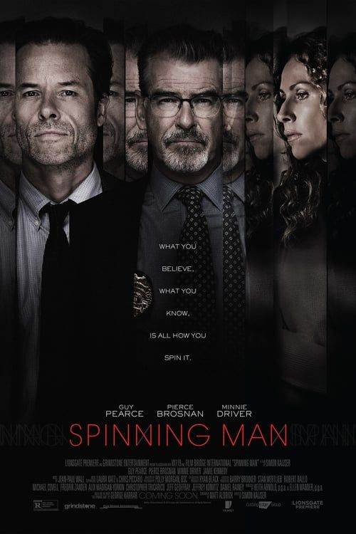 Watch Spinning Man (2017) Full Movie Online Free