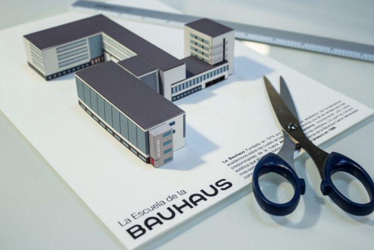 #Building Bauhaus #Paper Cutout © Luis Vanegas
