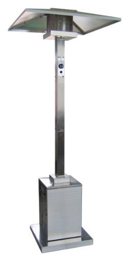 AZ Patio Heaters Commercial Patio Heater in Stainless Steel