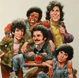 "Welcome Back, Kotter (1975-1979) Stand up comedian Gabe Kaplan created and starred in this classroom farce from characters in his own life going to school in Brooklyn. He plays remedial teacher Gabe Kaplan who must keep his room of Sweathogs out of trouble. Ron Palilo played class clown Arnold Horshach, Robert Hegyes the hard Puerto Rican Epstein, with John Travolta stealing the show as the Italian pretty boy Vinnie Barbarino who immortalized the line ""Up your nose with a rubber hose!"" Also…"