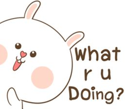 TuaGom : Puffy Rabbit - Creators' Stickers