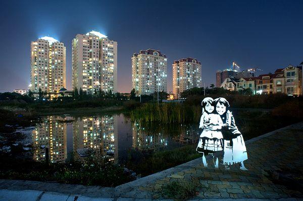 Light Stencils in Vietnam