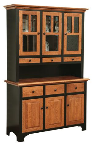 This Is To Show Painted Cabinet Frame With Natural Wood Doors Solid Cherry China Two Tone Cabinets