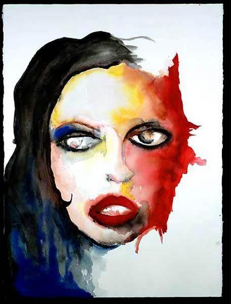 Super Die besten 25+ Marilyn manson paintings Ideen auf Pinterest  MW83