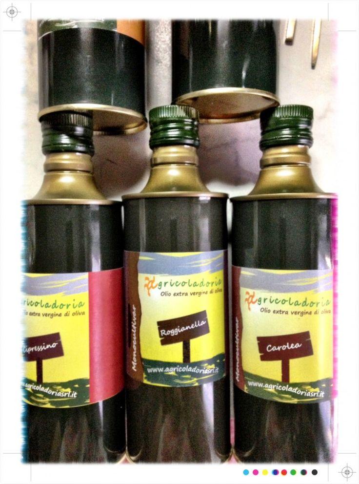 Olio extra Vergine di oliva Agricola Doria #CultivarCipressino #calabria #food
