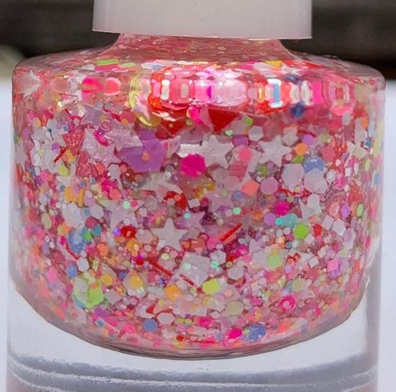 Unicorn Dreams – Handmade Glitter Nail Polish – 10 Free, Vegan, Cruelty-Free