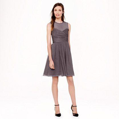 J.Crew - Clara dress in silk chiffon