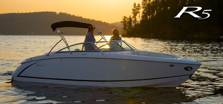 R5 #bowrider is great at sunset #cobaltboatsluxury