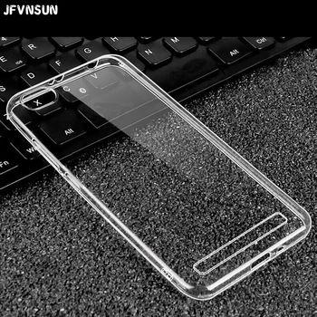 """JFVNSUN for Xiaomi Redmi 5A Case Ultra Thin Transparent Clear Crystal Soft TPU Case for Xiaomi Redmi 5A 16GB Cover Fundas 5.0""""  Price: 1.44 USD"""