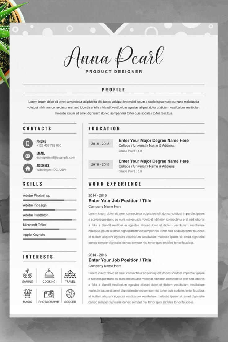 50++ Product designer resume samples inspirations