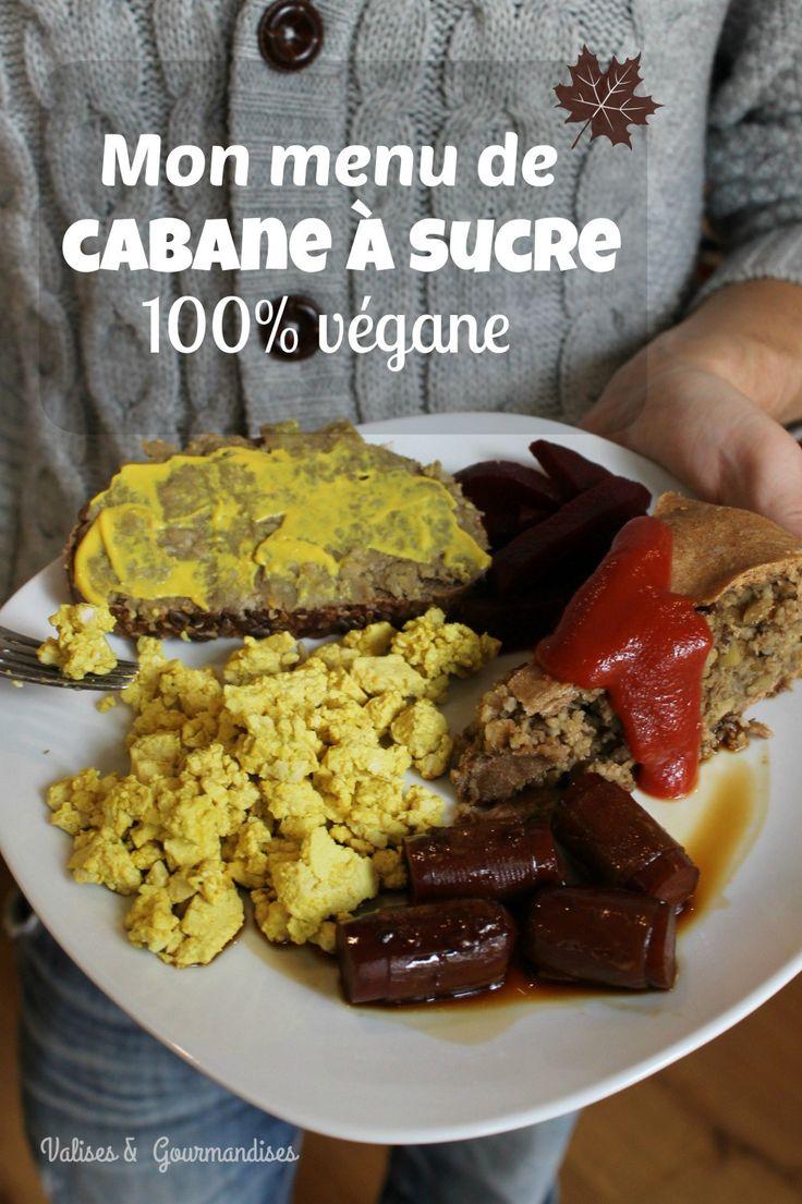 Préparez vous-même un festin de cabane à sucre végane à la maison! Valises & Gourmandises