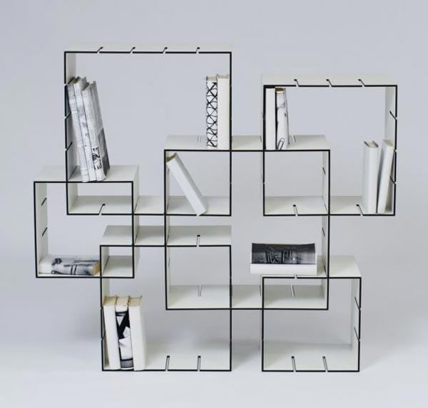 DIY Bookcase :) Nice Idea! Nice Ideas