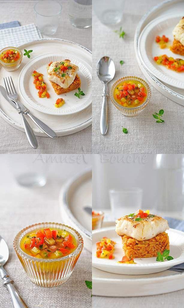 Sauce vierge pour accompagnement poisson
