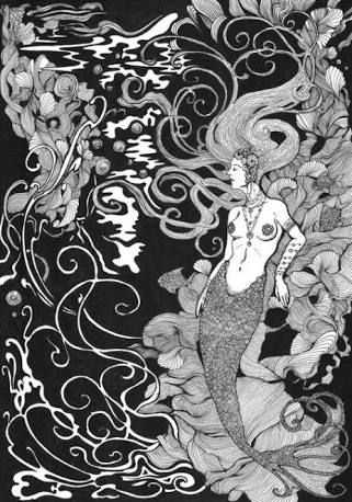 Image result for ex libris mermaid
