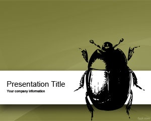 Free bug PowerPoint template is a slide design with bug that you can download for software products but also for issue tracking or bug tracking solution in PowerPoint presentations