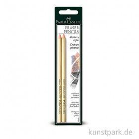 Faber-Castell PERFECTION Radierstift - 2 Stück im Set