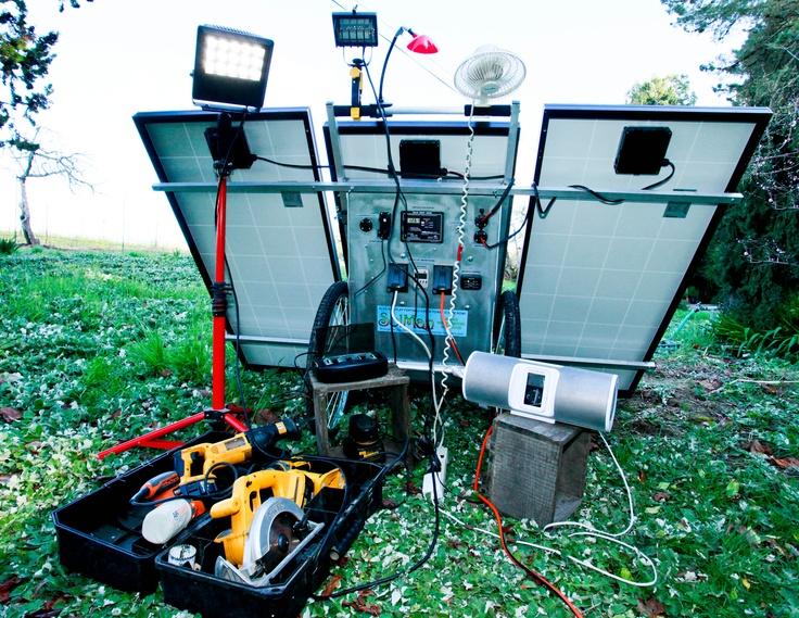 SolMan Classic Solar Generator