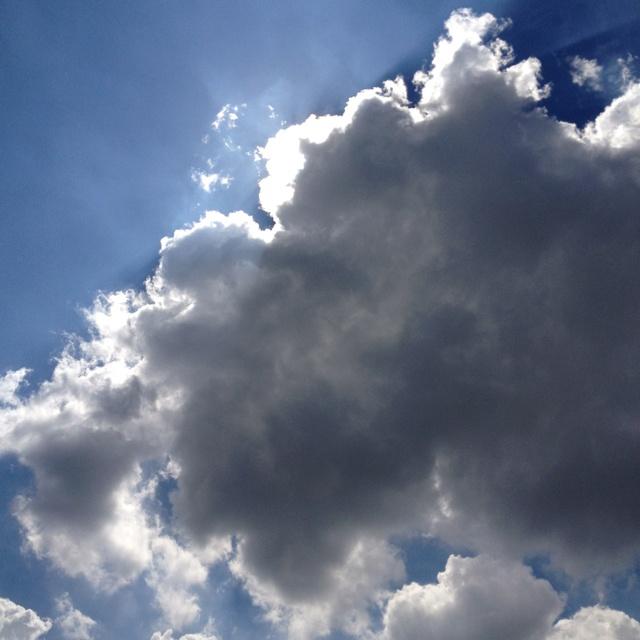 Summer cloud.