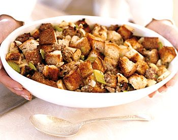 The. best. stuffing. ever. No joke.