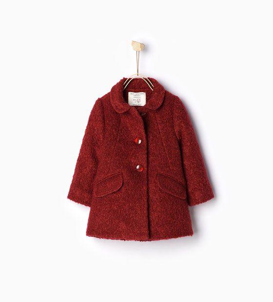 Image 4 of Flap coat from Zara