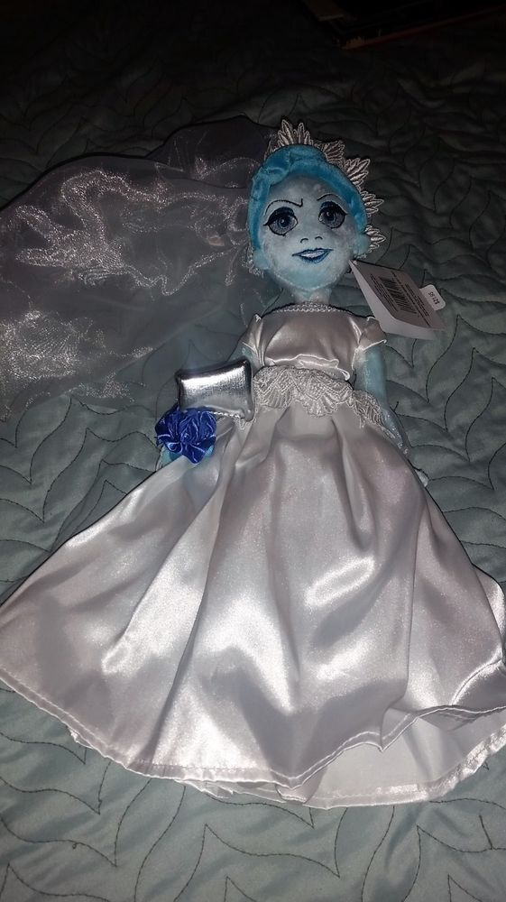 "Disney World Haunted Mansion Bride doll 14"" New with tags Halloween Ghost"