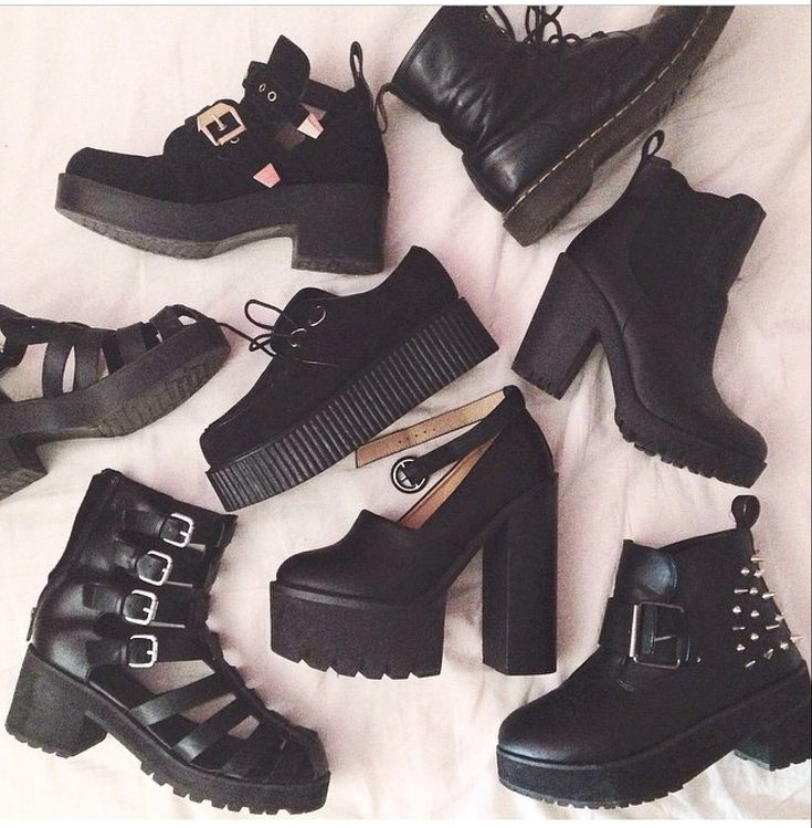 My most wanted grunge shoes!