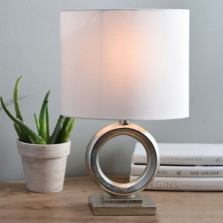 Champagne Circle Table Lamp | Kirklands