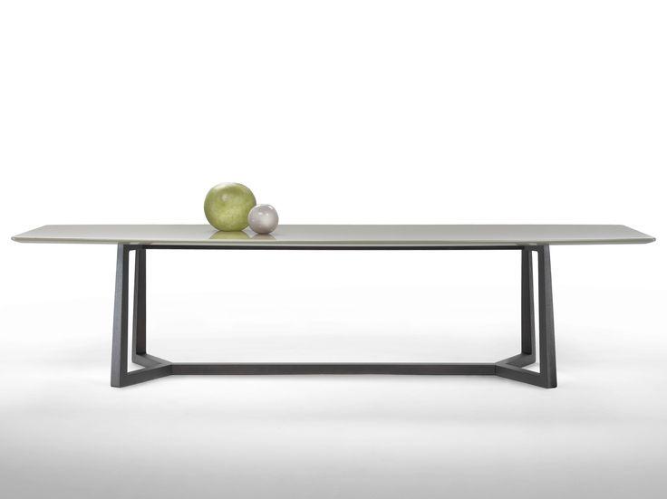 Lackierter Rechteckiger Tisch Aus Holz GIPSY | Tisch   FLEXFORM